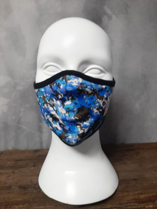 Cool camo Mask two layers