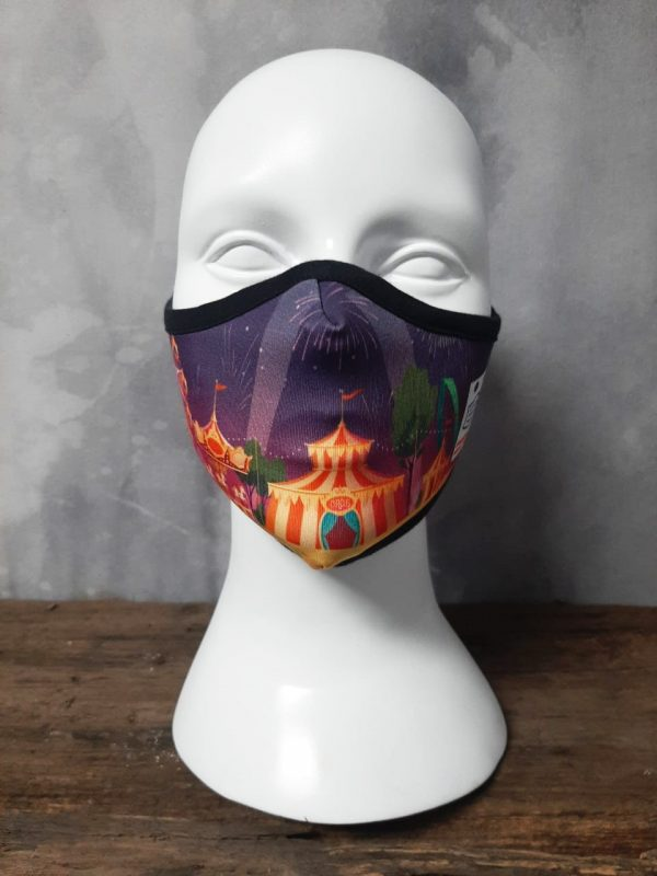 Circus time pollutants Mask