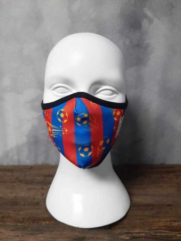 Blaugrana withstand high quality Masks