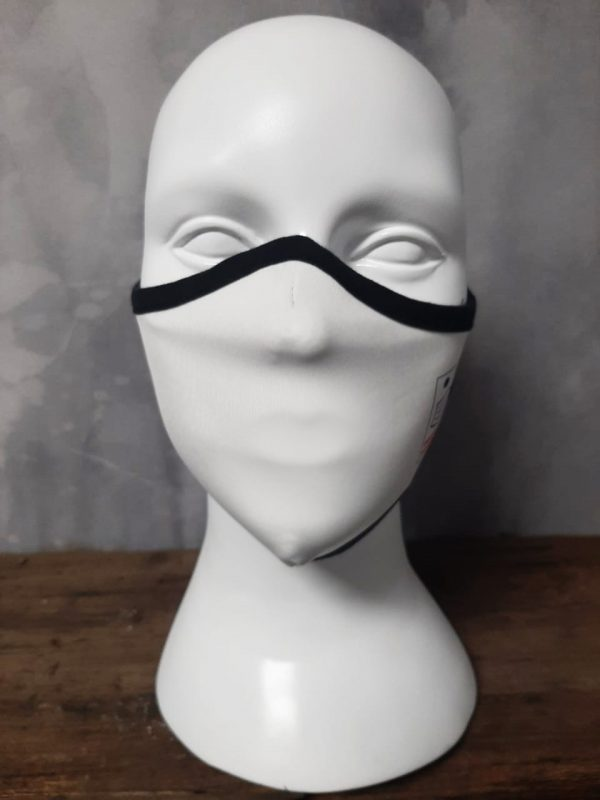 Plain White pollution Mask
