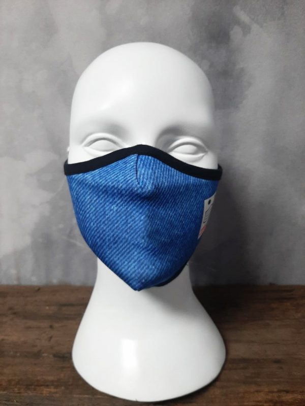 Denim days mask with multiple size
