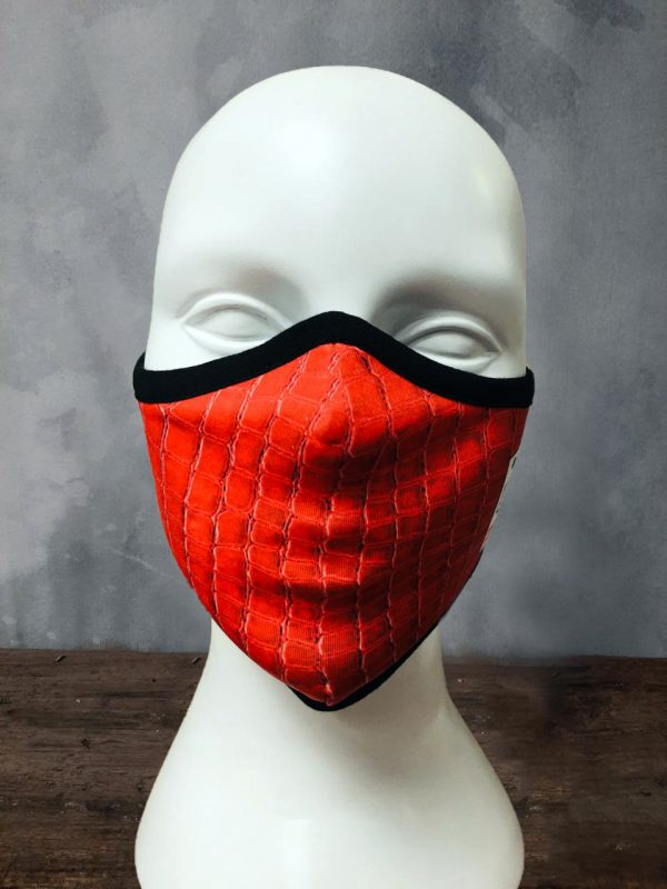 Red Color Mask face cover